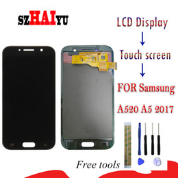 2021 display lcd per samsung a5 Display LCD A520 + Touch Screen per Samsung Galaxy A5 2017 A520f SM-A520F Luminosità dello schermo regolabile con strumenti display lcd per samsung a5 economici