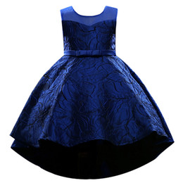 2019 хлопок детские халаты Высокая низкая цветочница платья хлопок 2018 4 цвета доступны конкурс платья для девочек первого Причастия дети выпускного вечера платья MC1705 дешево хлопок детские халаты