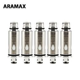 5 stücke ARAMAX Power Ersatzspule 0,14 ohm spule Widerstand für Power Kit Hohe Qualität E cig Ersatzteil von Fabrikanten