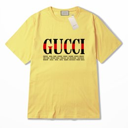 camisas de marcas de nombre Rebajas Mejor venta de algodón Nueva camiseta de verano para hombre Camisa de gran tamaño Camiseta de manga corta con estampado de camiseta de algodón para hombres Ropa de marca S-2XL 3