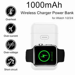 Argentina Banco de energía con batería de litio 1000mAh Cargador magnético portátil portátil para batería de litio Cargador magnético para Apple Watch Series 1 2 3 4 supplier watch series power Suministro