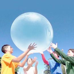 2019 globos morados Increíble Wubble Bubble Ball Globos Agua Inflable Airballoon Transparente Al Aire Libre Para Adultos Y Niños Juguetes Purple Blue Ventas Calientes 21ct2 C1 rebajas globos morados