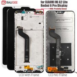 2019 billige bildschirme Billige handy bildschirme display für xiaomi mi a2 lite display touchscreen ersatz für redmi 6 pro lcd bildschirm