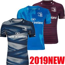 Top qualità 2019 Leinster Rugby Maglia 2019 2020 casa lontano EUROPEO ALTERNATIVO dimensione migliore qualità LEINSTER irlandese maglia da rugby club di S-3XL da