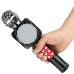 хост-машина Скидка Excelvan Беспроводной Bluetooth караоке WS1816 микрофон динамик портативный динамик микрофон музыкальный автомат поет хостинг КТВ