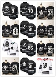 Wholesale Nikita Kucherov Steven Stamkos All Star jerseys Patrick Kane John Tavares Brent Burns Connor McDavid Marc Andre Fleury Sidney Crosby