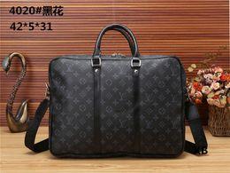 355ff5cb0 2019 novos homens maleta pacote de negócios de luxo venda quente bolsa para  laptop mensageiro de couro pacote de embreagem bolsa OL arquivo de negócios  ...
