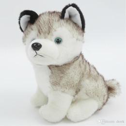 Canada chien en peluche cutetoyss jouets en peluche petits animaux en peluche jouets 18cm cadeau enfants cadeau de Noël en peluche jouets en peluche shiping gratuit cool supplier husky toys Offre