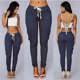 nouveau pantalon design pour femme Promotion Usine Source Ventes Bon Élastique Belle Matière Paquets Crayon 2019 Nouveau Design De Mode Doux Adapté Skinny Femelle Dames Pantalon