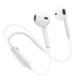 S6 Bluetooth Headset Mini Drahtloser Fitness-Kopfhörer In-Ear-Stereo-Kopfhörer mit Mikrofon und Lautstärkeregler von Fabrikanten