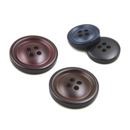 200 pz / lotto 15mm moda bicolore bottoni 4 fori bottoni bottoni bottoni da uomo bottoni cucirini ecologico bottone in plastica per vestire da