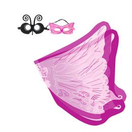 Бабочка крыло плащ маска маска для волос головные уборы событие ну вечеринку детские костюмы хэллоуин сценическая одежда на открытом воздухе игры дети талисман тенденции от Поставщики ангелы персонажи мультфильма