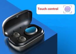 Canada Oreillette Bluetooth mode privé voiture d'affaires sans fil mini-oreillette tactile oreille unique oreille Bluetooth bin de chargement Offre