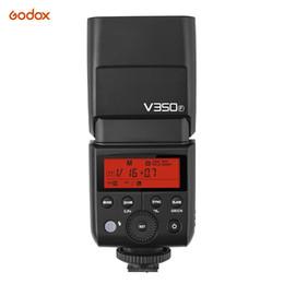 Ttl kamera online-Godox V350F Blitzgerät Speedlite Wireless TTL-Modus Blitzgerät SpeedlightTTL 1 / 8000s HSS für Lithium-Ionen-Akkus