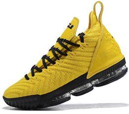 Zapatillas de baloncesto para hombres LBJ 16s Igualdad XVI Zapatillas de deporte ver el trono King Oreo New-Lebron 16 Equity 40-46 desde fabricantes