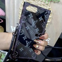 caso motomo a5 Desconto 2018 novo design de moda espelho caso de telefone móvel para iphone 7 7 plus 8 8 plus 6 6 s 6 plus x tpu + pc com cordão
