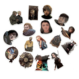 motorcycles games Coupons - 61Pcs Lot Waterproof Game of Thrones PVC Stickers For Suitcase Laptop Motorcycle Skateboard Luggage Decal Kids Toy DIY Sticker