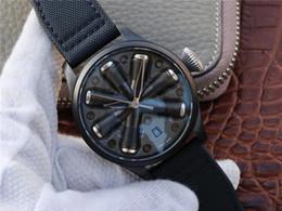 2019 formas relógios para homem CW luxo relógio grande mosca conceito versão de aço refinado caso motor da aeronave forma azul de alta transparência-revestimento mens relógios desconto formas relógios para homem
