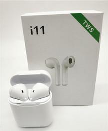 Neue I11s TWS Mini Bluetooth Ohrhörer Wireless Earphone für alle Smartphones schnelle Lieferung mit Ladegerät Box von Fabrikanten