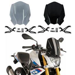 2019 kawasaki ninja pára-brisas Para BMW G310R 2017 - Pára-Brisas de motociclo com suporte de Montagem De Plástico ABS de alta qualidade