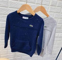 spider man invierno abrigo niños Rebajas niños de la capa suéter de punto de cuello redondo con capucha vellones de bolsillo