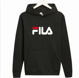 FILA Designer brand otoño e invierno chaqueta de suéter para hombre y mujer deportiva pareja ocasional cuello redondo y chaqueta suelta suéter con capucha desde fabricantes