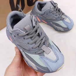 Zapatos para niños Zapatillas para correr para bebés y niños pequeños Zapatillas de deporte Kanye West Yez 700 Zapatillas para bebés Niños Niños y niñas Chaussures Pour Enfants EUR28-35 desde fabricantes