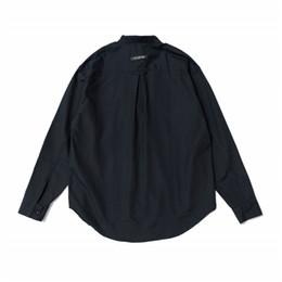 кнопки вниз Скидка Осень с длинным рукавом Хлопковая пуловерная рубашка Свободная посадка Kanye West Рубашки с тремя пуговицами Уличная одежда с надписью на спине