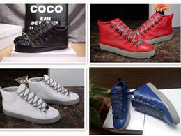 e3cc845edb Nueva Buena Calidad Hombre Zapatos de Arena Planos Diseñador de Marca de  Lujo Zapatos Casuales Hip Hop Hombre Chaussures Aire Libre Tamaño 38-46