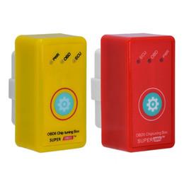 mestre de línguas Desconto Novo Super OBD2 Car Chip Tuning Box Plug and Drive SuperOBD2 Mais Poder Mais Torque Como Nitro OBD2 Chip Tuning NitroOBD2
