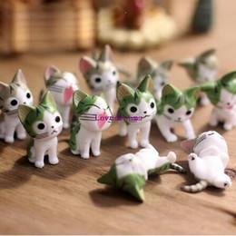 Argentina htgar 6pcs / Set Moss micro paisaje ornamentos decorativos suculentas macetas accesorios de queso de dibujos animados lindo mano muñeca de la muñeca del gato Suministro