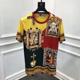 4eb894ad32aa t shirts famous men Promo Codes - 2019 spring 19ss new fashion tees cross  royal religion