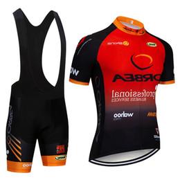 maillot cycliste orbea rouge Promotion 2019 hommes cyclisme Jersey Orbea été séchage rapide respirant manches courtes classique Jersey rouge Racing vélo vêtements Gel Pad 121101y
