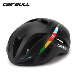 2019 aero bikes CAIRBULL Triathlon Fahrradhelm Ultraleichtes rennrad Erwachsene Protector aero Fahrradhelme Ausrüstung Frauen Schutzkappen günstig aero bikes