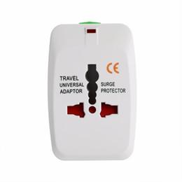 2019 adattatore universale di corsa del mondo universale Adattatore universale universale a spina 2 Adattatore universale per caricabatteria da viaggio a porta USB con AU Convertitore UE Regno Unito