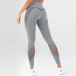 tight yoga pant hot Coupons - Hot Sale Sports Wear Moto Mesh Yoga Pants For Women High Waist Leggings Fitness Clothing Female Fitness Legging Sport Gym Leggings Tights