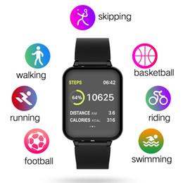 montre en cours d'exécution mp3 Promotion B57 Femmes Smart montres Sports Imperméables Pour Iphone téléphone Smartwatch Moniteur De Fréquence Cardiaque Fonctions De Pression Artérielle Pour Enfant