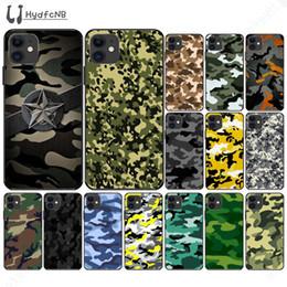 2020 Patrón de camuflaje del ejército del teléfono para el iPhone 11 casos pro XS MAX 8 7 6 5 6S Plus X 5S SE XR por mayor desde fabricantes