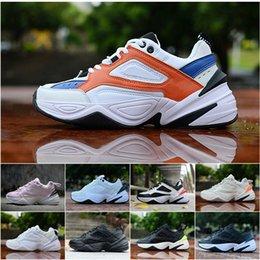Hombres Mujeres Air M2K Tekno  zapatos corrientes viejos para las zapatillas de deporte entrenadores atléticos profesionales zapatos de deporte al aire libre 36-45 desde fabricantes