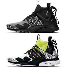 0bd10a41d0d 2019 Nouveau Top N K Acronyme x Presto Mid Epic React Souffle Sport Taille  5.5-11 Hommes Chaussures de Course Femmes Athlétique Designer Baskets
