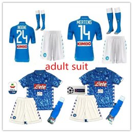 Adult 18 19 napoli soccer jersey home 2018 2019 Naples ZIELINSKI HAMSIK  INSIGNE MERTENS CALLEJON PLAYER ROG football shirts 143c29c18