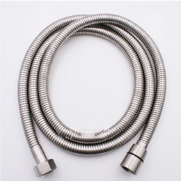 "G1//2/"" Flexible Stainless Steel Woven Standard Shower Head Bathroom Hose Pipe"