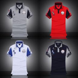 2019 adlerhemd druck Herren Designer Polo Shirts Luxus Brief Aeronautica Militare Gedruckt T-shirt Italienische Mode Adler Logo Tops Kurzen Ärmeln Sommer Neu.B18 rabatt adlerhemd druck