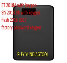 2019 x programador de herramientas Para ET 2018A keygen con ET Program + SIS 2018.4 con keygen para black cat + archivos Flash + nuevo hdd