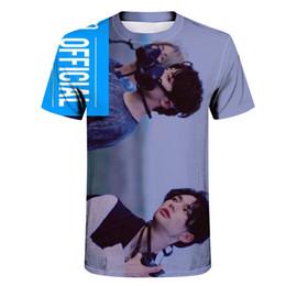 Горячие летние продукты онлайн-3D Stray Kids Футболка мужская мода Лето с коротким рукавом футболки 2019 Новые продукты Hot Casual Street