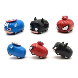 novo brinquedo tartaruga natação Desconto Spiderman dos desenhos animados Puxar para trás Mini Metal Model Car 1:32 Simulação Car Toy Bonito Dos Desenhos Animados Dobrável Carro Crianças brinquedo hot seels
