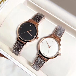 full rhinestones watch Coupons - Full Diamonds luxury Women watches quartz clock Lady Wristwatch Bracelet Luxury black silver rose gold Rhinestone Watch Japan movement
