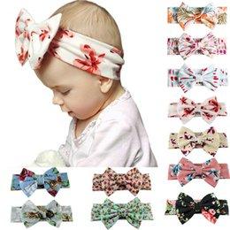 Baby Girls Leopard Headbands Turban Bandana Hair Band Kids Soft Stretch Big Bow Bowknot Head Wrap Hair Band Accessories,0399