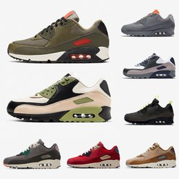 Zapatillas premium online-Nike air max 90 airmax Stock X VIOTECH OG 90 Mens Running Shoes Mixtape South beach Raptors 90s Neon Accents be true infrared men women sports designer sneakers