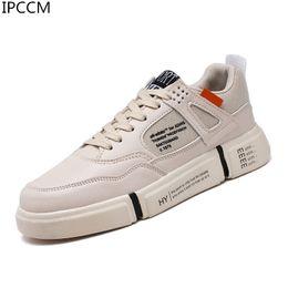 Новые корейские мужчины повседневная обувь онлайн-Spring 2019 New High-quality Korean Version Of The Trend Of Summer Wild Casual youth vitality Comfortable Men's White Shoes